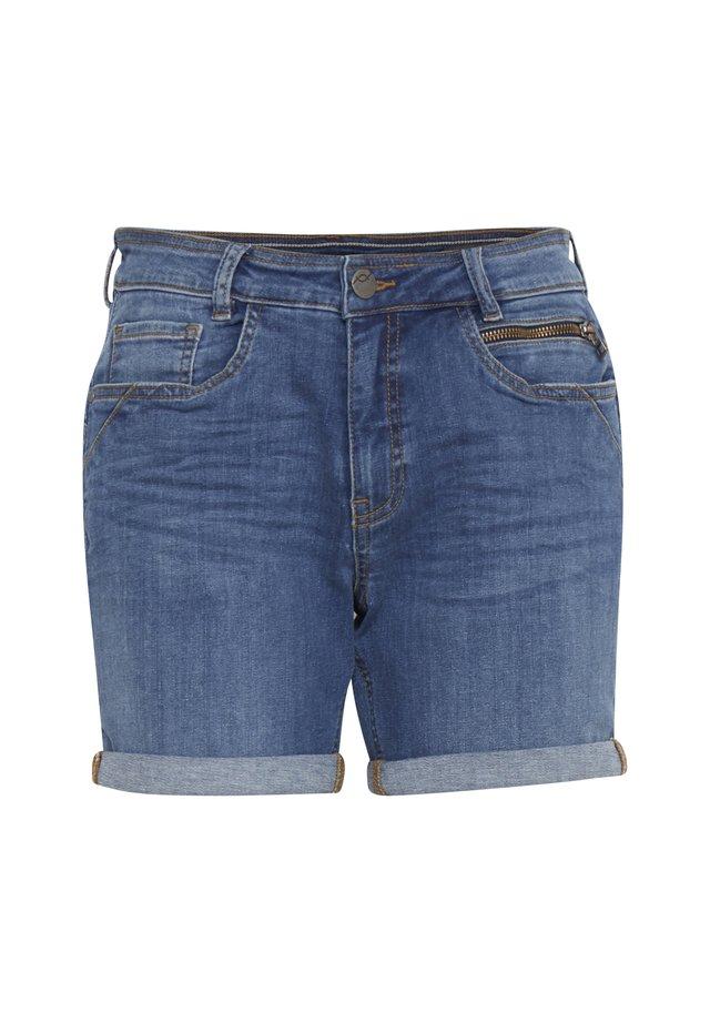 FRJOZOZA  - Szorty jeansowe -  blue denim