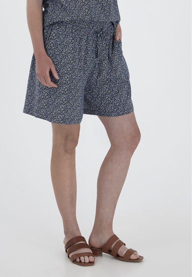 FXSUSUN 3 SHORTS - Shorts - navy blazer mix