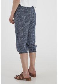 Fransa - 6 PANTS - Shorts - navy blazer mix - 3