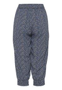 Fransa - 6 PANTS - Shorts - navy blazer mix - 6