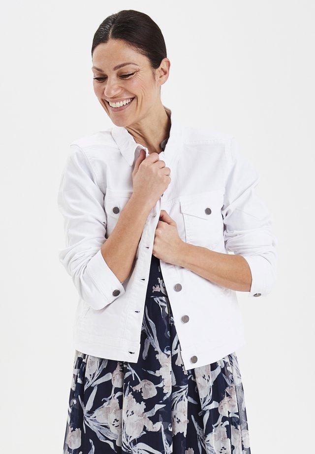 FRIVTWILL  - Kurtka jeansowa - white