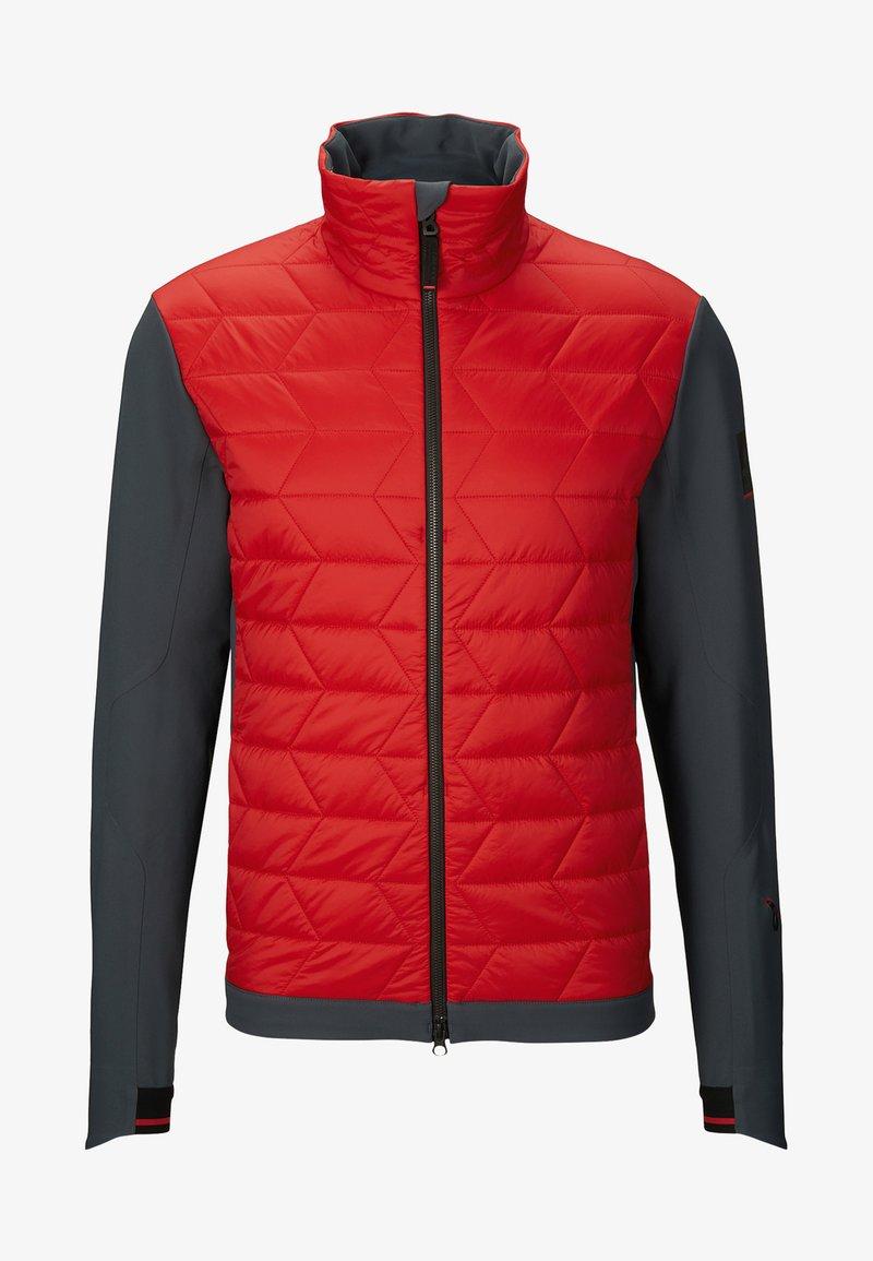 Bogner Fire + Ice - HYBRID-JACKE - Skijacke - red/dark gray