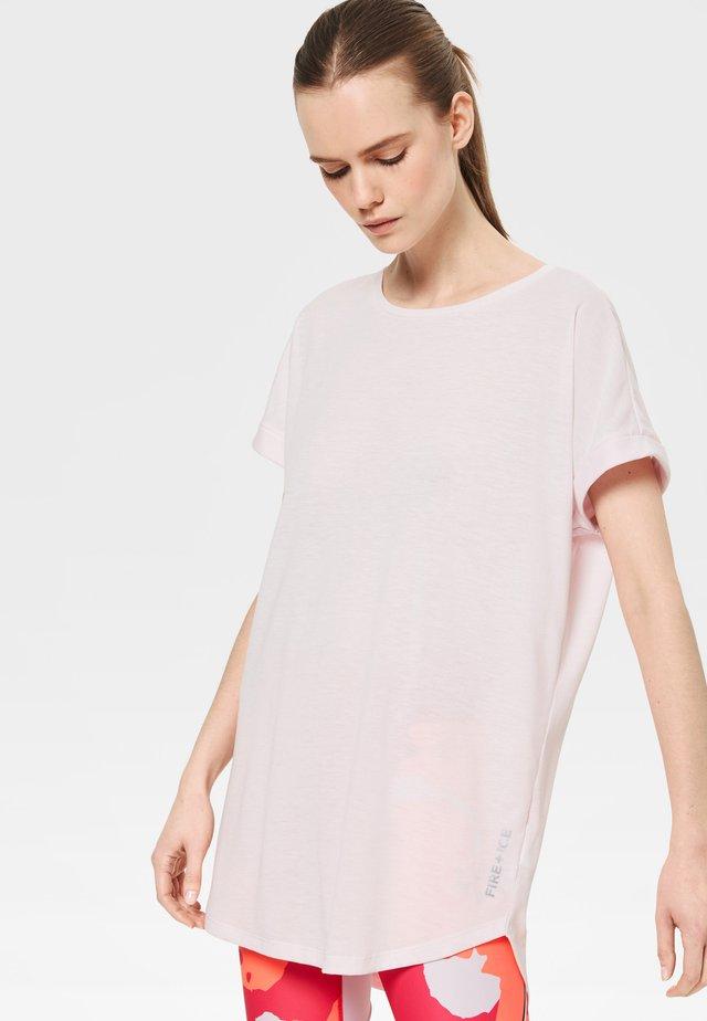 EVIE - T-Shirt basic - light pink