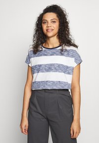 Bogner Fire + Ice - NALU - T-shirt z nadrukiem - dark blue - 0