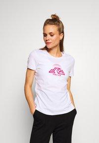 Bogner Fire + Ice - FATUA - T-shirt z nadrukiem - white - 0