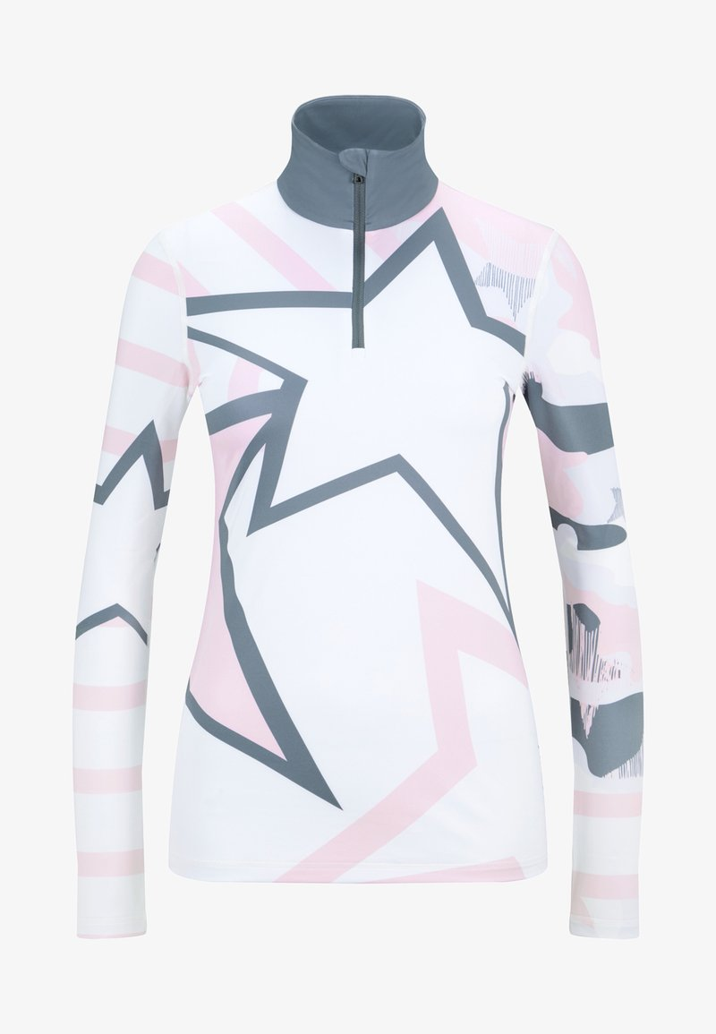 Bogner Fire + Ice - Longsleeve - off-white/pale pink/gray