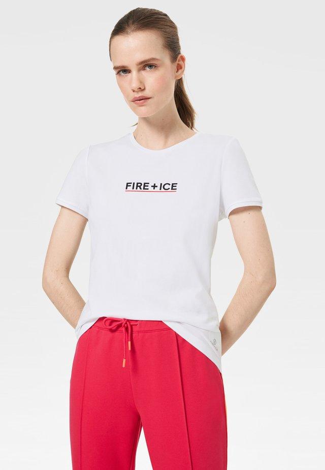 FATUA - Print T-shirt - white