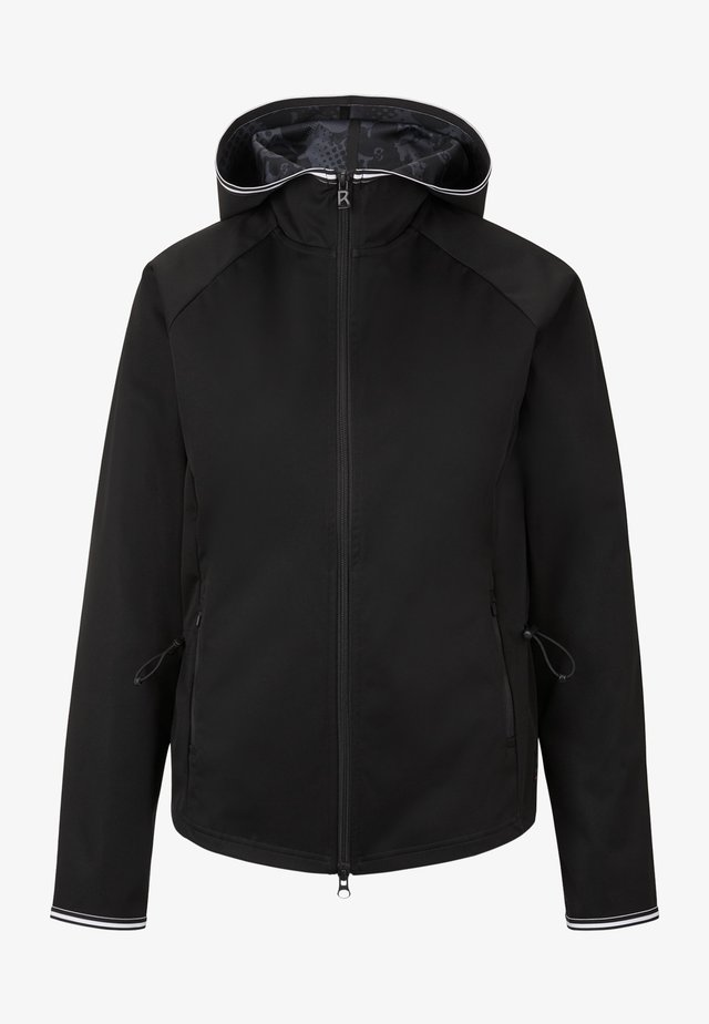 Soft shell jacket - black