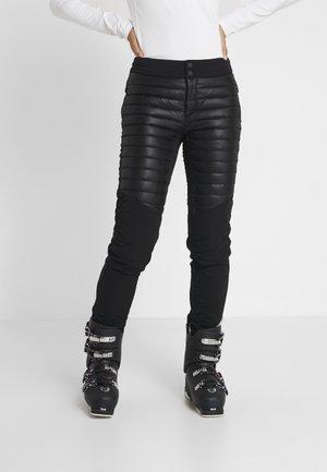 ISA - Stoffhose - black
