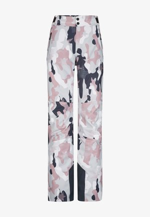 MAILA - Schneehose - white/pink/grey
