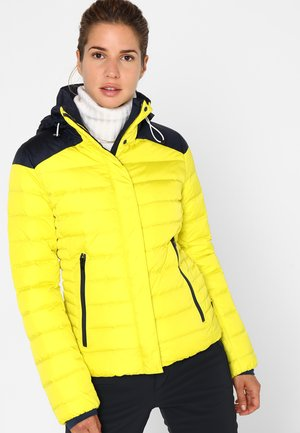 ABELA-D - Skijakke - yellow