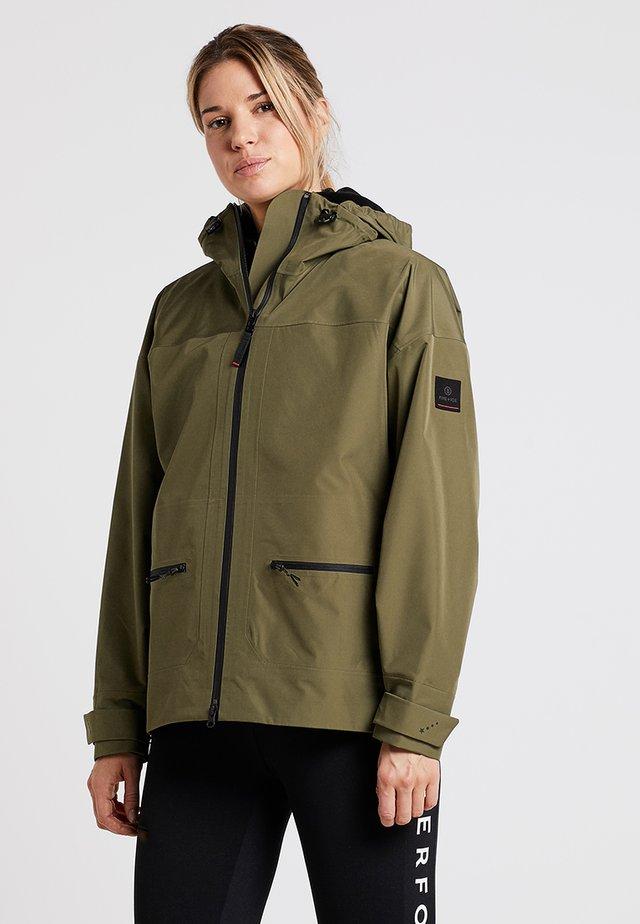BINE - Hardshell jacket - green
