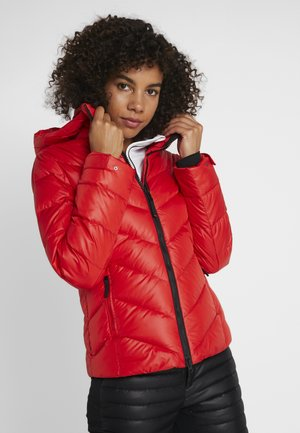 SASSY - Down jacket - red