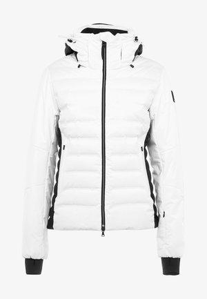 CANDRA - Kurtka narciarska - white/black