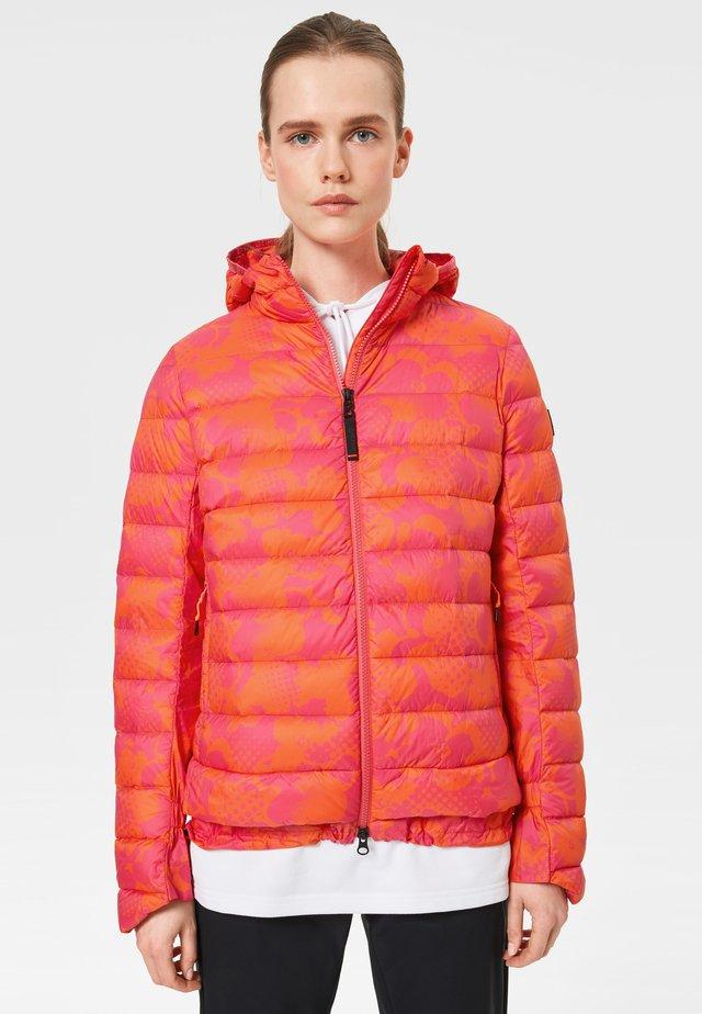 ANKA - Down jacket - fuchsia\orange