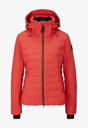 CANDRA - Snowboardjas - red