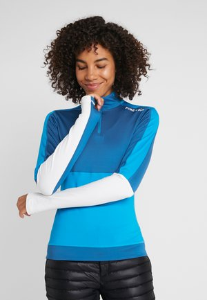 DELLA - Bluza z polaru - blue/turquoise