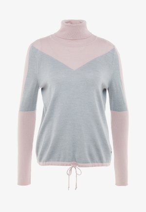 XENA - Sweter - pink/light grey