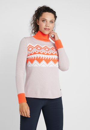 SHARON - Stickad tröja - pink