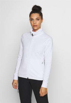 GIADA - Mikina na zip - white