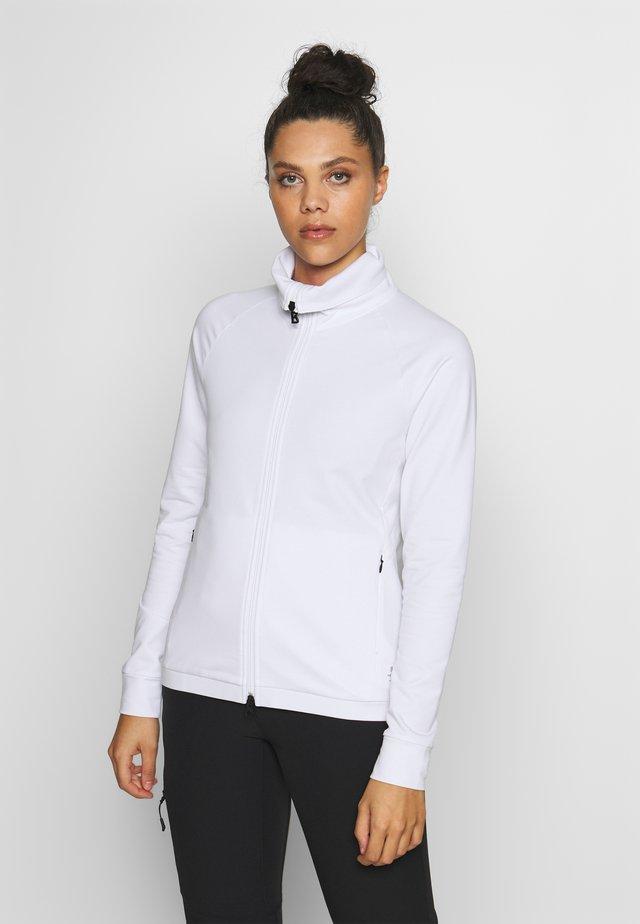 GIADA - Bluza rozpinana - white