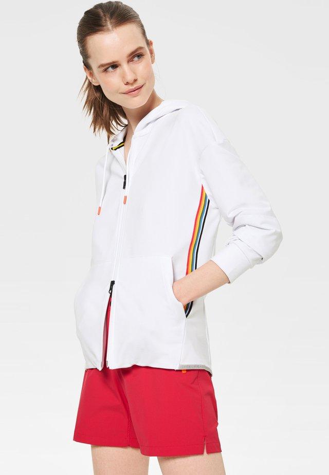 ERLA - Zip-up hoodie - weiß