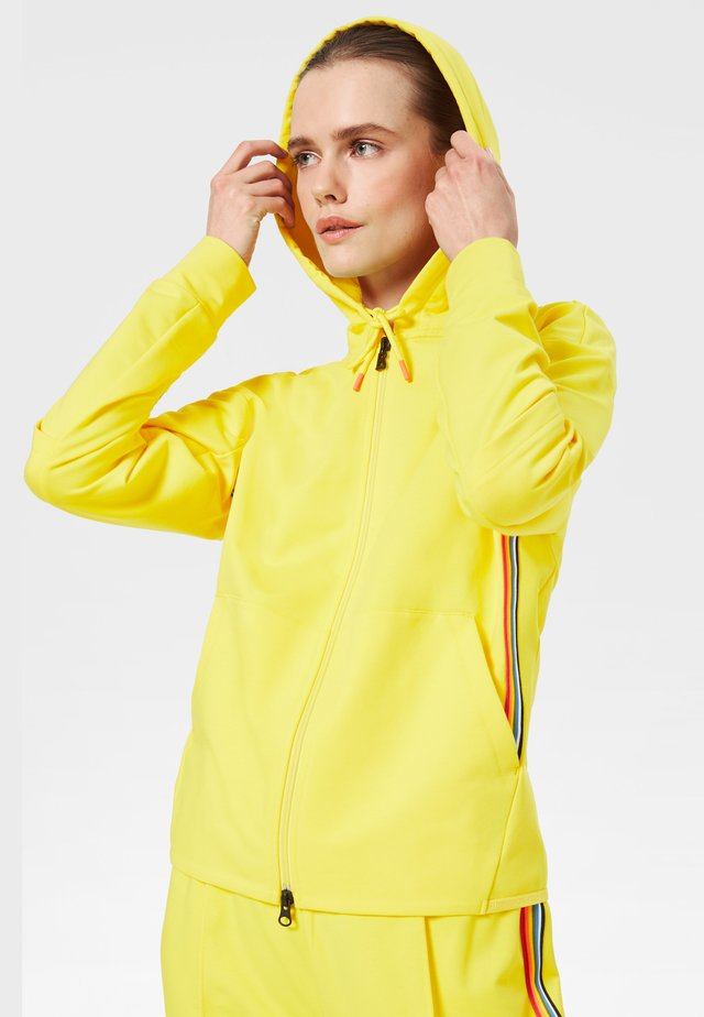 ERLA - Zip-up hoodie - yellow