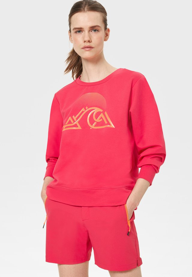 Sweatshirt - fuchsia