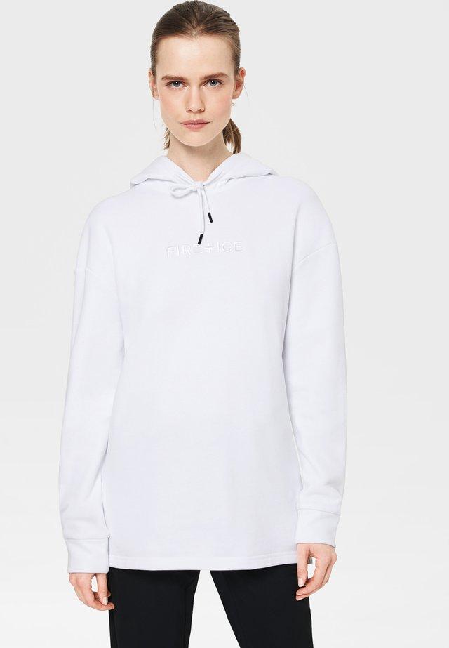 HENRIKA - Kapuzenpullover - white