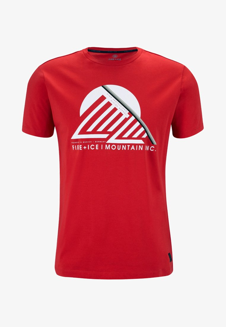 Bogner Fire + Ice - FOX - T-Shirt print - red