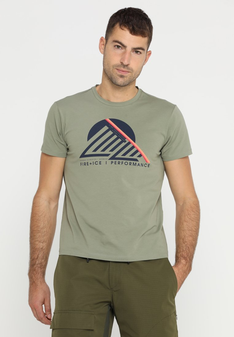 Bogner Fire + Ice - FOX - T-Shirt print - olive