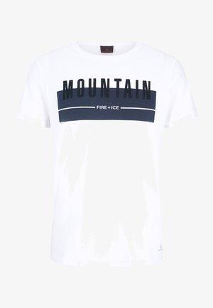FOX - T-shirt imprimé - white