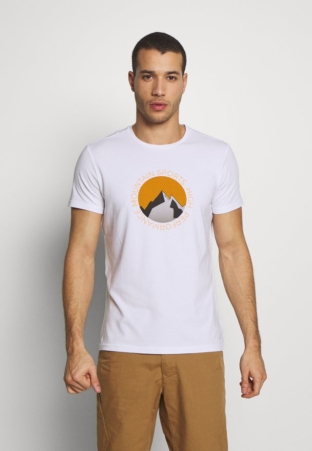 FOX - T-shirt con stampa - white