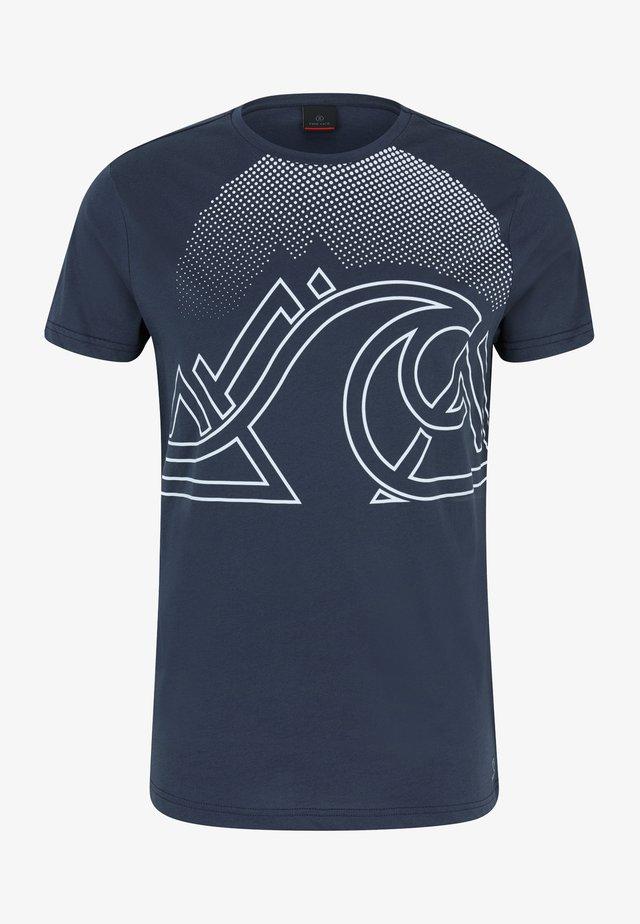 MARIO - T-Shirt print - navy-blue