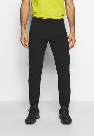 RIVER - Kalhoty - black