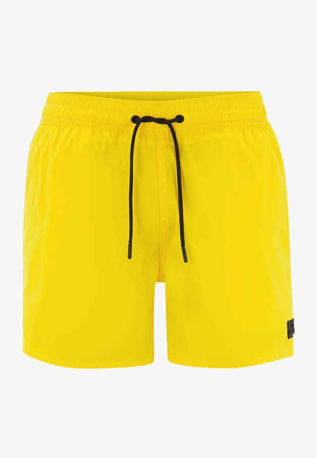 NELSON - Swimming shorts - lemon