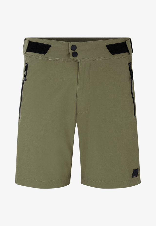 TREVOR - Sports shorts - olive green