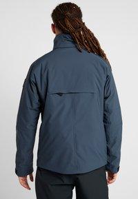 Bogner Fire + Ice - EAGLE - Lyžařská bunda - blue/grey - 3