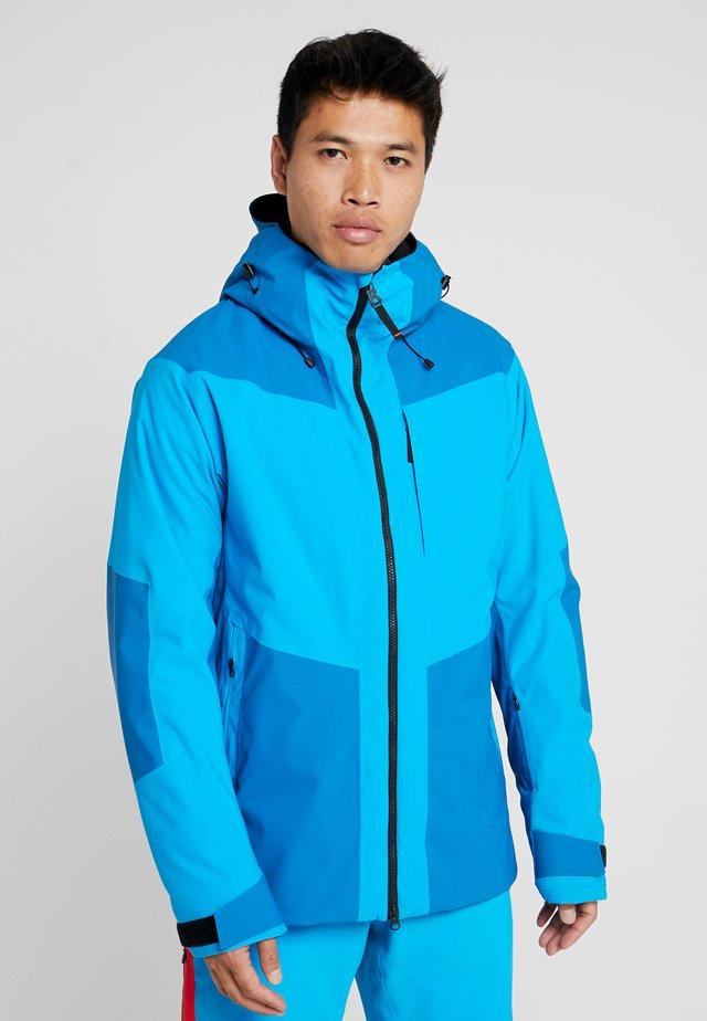 HANNES - Snowboardová bunda - blue/turquoise