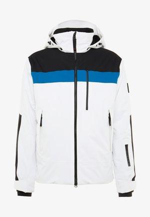 DAMIAN - Snowboardová bunda - white/black