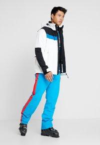 Bogner Fire + Ice - DAMIAN - Kurtka snowboardowa - white/black - 1