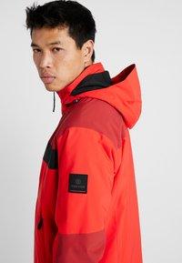 Bogner Fire + Ice - DAMIAN - Snowboardová bunda - orange/red - 3
