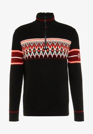 ADRIAN - Pullover - black