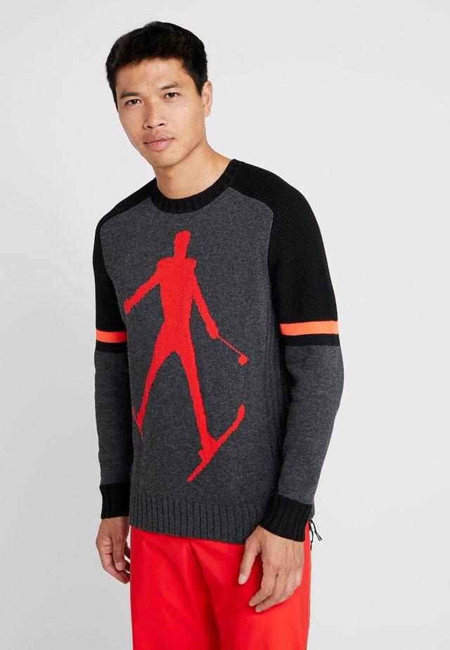 SHANE - Stickad tröja - grey