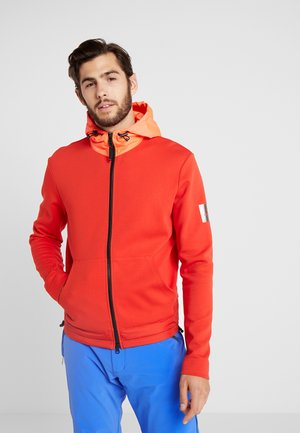 CONNOR - Sudadera con cremallera - orange