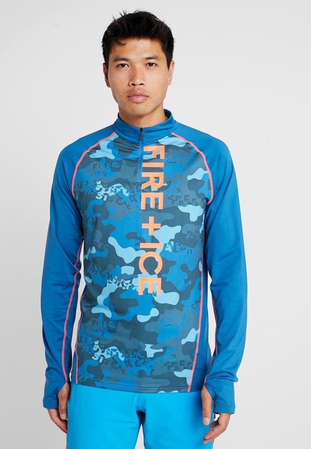 MARIAN - T-shirt à manches longues - blue