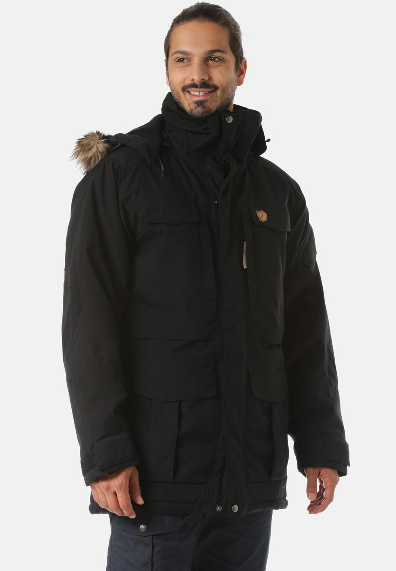 Fjällräven - Winter coat - black