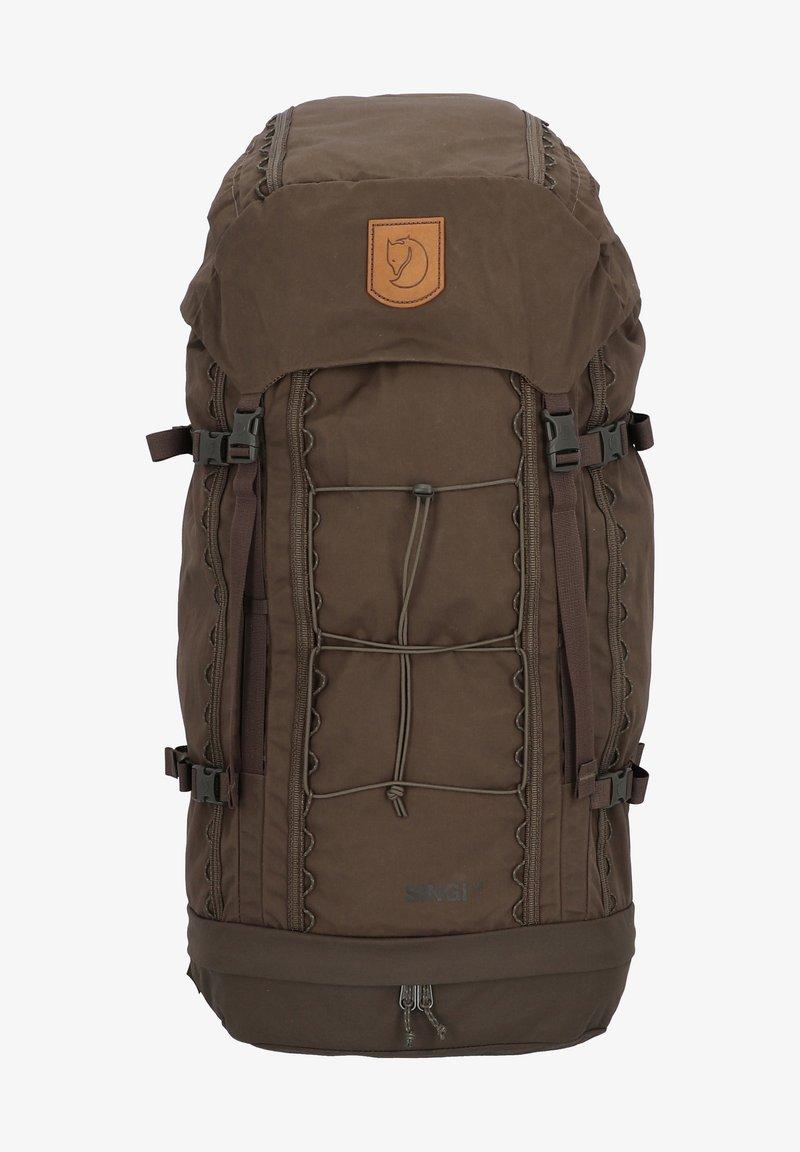 Fjällräven - SINGI - Backpack - dark olive
