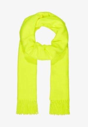 Bufanda - neon gelb grün