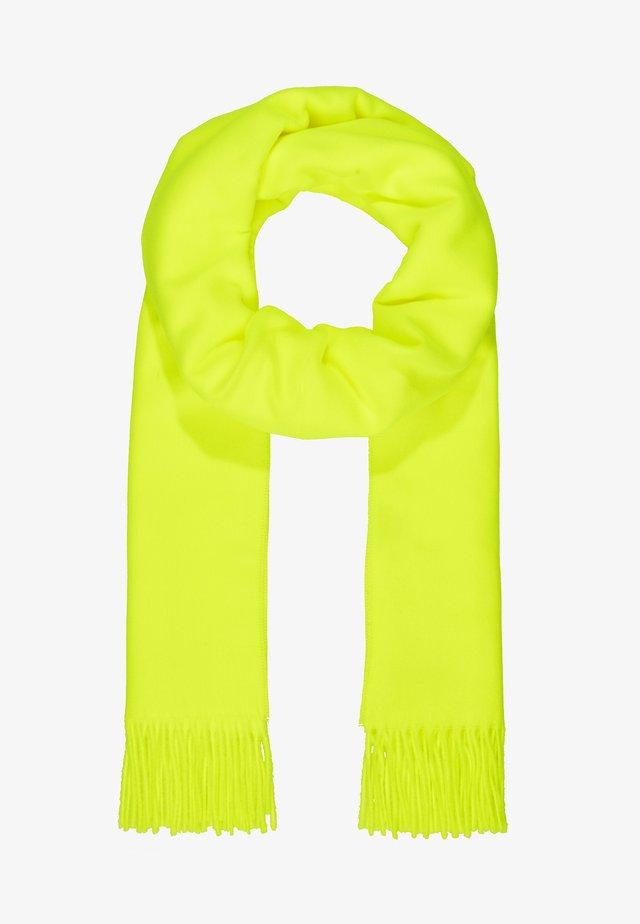 Sjal / Tørklæder - neon gelb grün